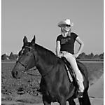 Pferd_Mensch_SW_Sepia_5