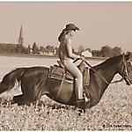 Pferd_Mensch_SW_Sepia_8