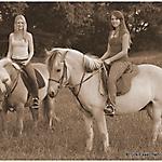 Pony_Mensch_SW_Sepia_4